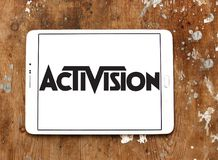 Activision company logo Royalty Free Stock Images