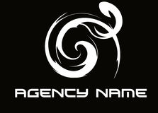 Logo agency. Logo for agency. for web template and industry Stock Photo