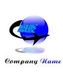 Logo airplane Royalty Free Stock Image