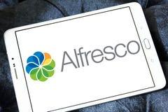 Logo al fresco del software fotografie stock libere da diritti