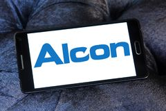 Alcon Ophthalmology comapny logo Royalty Free Stock Images