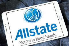 Allstate insurance company logo Royalty Free Stock Images