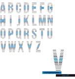 Logo alpabet Stock Image
