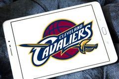 Logo américain d'équipe de basket de Cleveland Cavaliers Photo stock