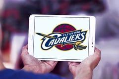 Logo américain d'équipe de basket de Cleveland Cavaliers Photos libres de droits