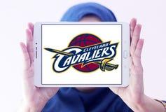 Logo américain d'équipe de basket de Cleveland Cavaliers Images libres de droits