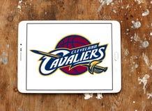 Logo américain d'équipe de basket de Cleveland Cavaliers Photo libre de droits