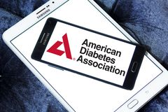 American Diabetes Association, ADA, logo. Logo of American Diabetes Association, ADA, on samsung mobile. The American Diabetes Association ADA is a United States Stock Photo