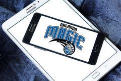 Logo americano della squadra di pallacanestro di Orlando Magic Immagini Stock Libere da Diritti