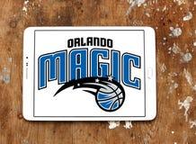 Logo americano della squadra di pallacanestro di Orlando Magic Immagine Stock Libera da Diritti