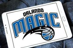 Logo americano della squadra di pallacanestro di Orlando Magic immagine stock