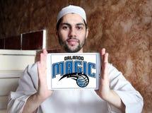 Logo americano della squadra di pallacanestro di Orlando Magic fotografie stock libere da diritti