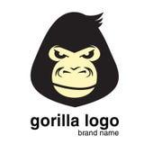 Logo animale logo della gorilla Scimmia Fotografia Stock Libera da Diritti