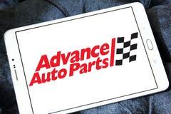 Logo anticipé de pièces d'auto Image libre de droits