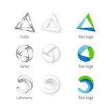 Logo - Architect company Royalty Free Stock Photo