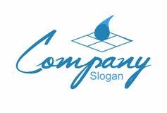 Logo artistique de plancher Image stock