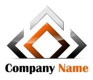 Logo astratto Fotografia Stock Libera da Diritti