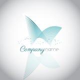 Logo astratto Fotografie Stock Libere da Diritti