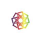 Logo astratto arabo Fotografia Stock Libera da Diritti