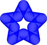 Logo astratto della stella fotografia stock libera da diritti