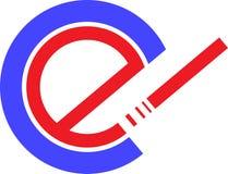 Logo astratto, progettazione di vettore, icona di simbolo immagine stock