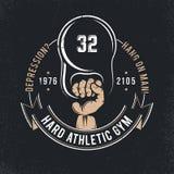 Logo atletico illustrazione vettoriale