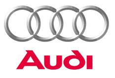 Logo Audi. Car color vector format aviable ai royalty free illustration
