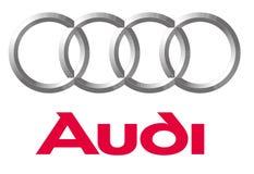 Logo Audi royalty free illustration