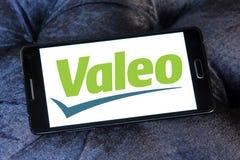 Logo automobilistico della società di Valeo fotografie stock