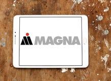 Logo automobilistico magna del fornitore fotografia stock