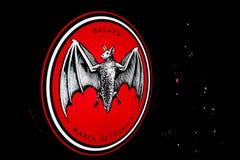 Logo av `-BACARDI `, royaltyfri foto