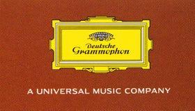 Logo av Deutsche Grammophon Royaltyfri Fotografi