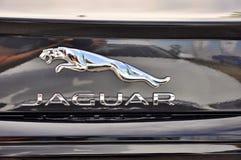 Logo av Jaguar XF Royaltyfri Foto
