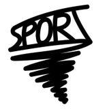 Logo av sporten Royaltyfri Foto