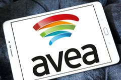 Avea Mobile telecommunications logo Stock Image