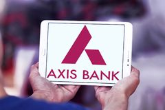 Axis Bank logo Stock Image