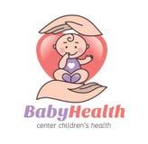 Logo baby health Royalty Free Stock Photography