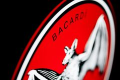 Logo of `BACARDI` Stock Photography