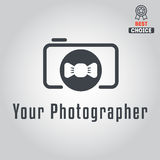 Logo, badge, emblem or label for photograph Stock Photos