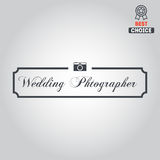 Logo, badge, emblem or label for photograph Royalty Free Stock Image