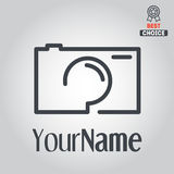 Logo, badge, emblem or label for photograph Stock Image