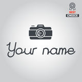 Logo, badge, emblem or label for photograph Royalty Free Stock Images
