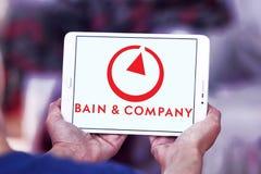 Bain & Company logo Royalty Free Stock Photos