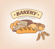 Logo bakery Royalty Free Stock Photography