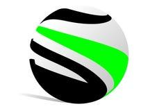 Logo ball Royalty Free Stock Photography