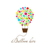 Logo for balloon company Stock Photo