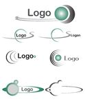 Logo balls 2 Royalty Free Stock Images