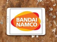Bandai Namco Entertainment logo. Logo of Bandai Namco Entertainment company on samsúng tablet. Bandai Namco Entertainment Inc. BNEI is a Japanese video game Stock Photography