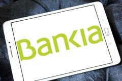 Bankia Spanish bank logo Royalty Free Stock Photo