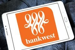 Bankwest logo Stock Photos